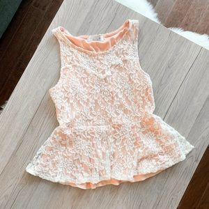 STELLA Floral Lace Top